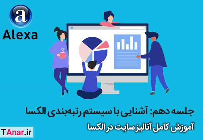آموزش الکسا - آموزش سیستم رتبه بندی alexa - آکادمی انار