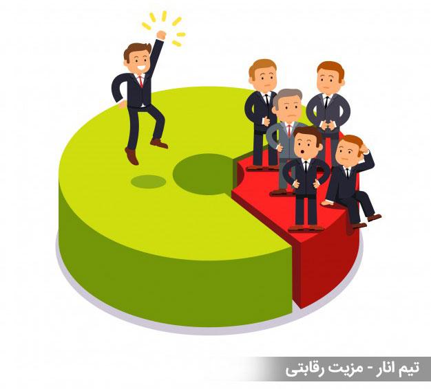 مزیت رقابتی - تیم انار