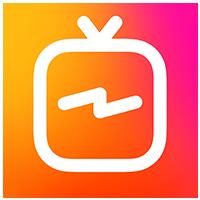 لوگو اپلیکیشن igtv اینستاگرام